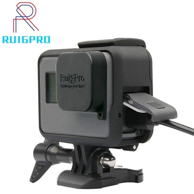 Для GoPro аксессуары GoPro Hero 7 6 5 защитная рамка чехол для видеокамеры корпус чехол для GoPro Hero5 6 черная Экшн-камера