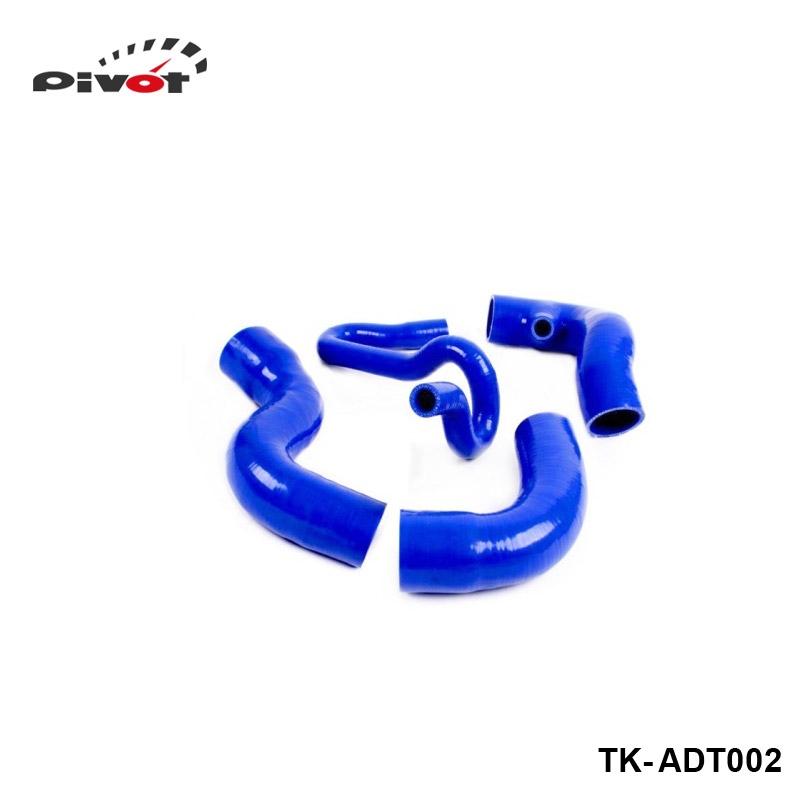 Silicone Intercooler Turbo Boost Hose For Audi A4 1.8T/1.8T Quattro B5 Chassis 96-01 (4pcs) TK-ADT002 gplus silicone intercooler turbo pipe hose kit for audi a4 vw passat b5 1 8t 94 05