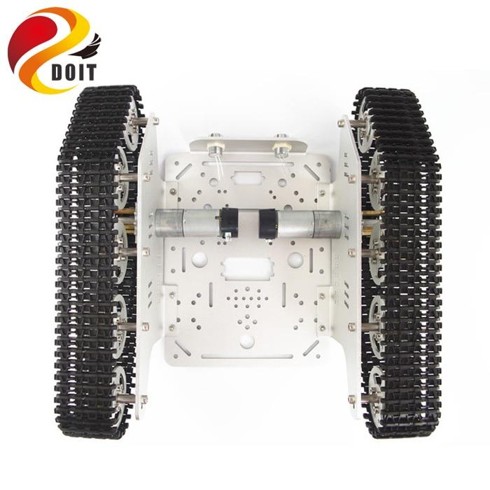 Arduino izləyən Caterpillar Track Zəncirvari Nəqliyyat - Uzaqdan idarə olunan oyuncaqlar - Fotoqrafiya 5