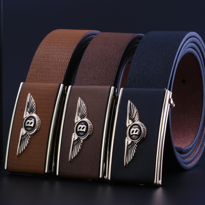 5502233eb447 2016 Marque nouvelle de luxe hommes ceintures Bentley Bentley hommes de  haute qualité hommes en cuir ceinture boucle ceintures pour hommes ceinture  homme. ...