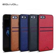 Eqvvol Slim PU Leather Case For iPhone X 8 7plus Ca