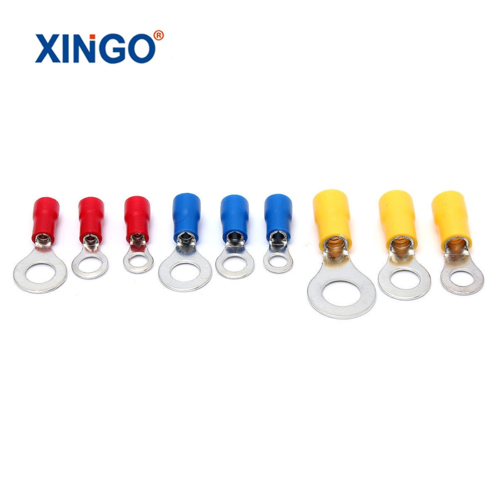 1200Pcs Assorted Insulated Spade Crimp Terminal Electrical Wire Connector Set Red Blue Yellow сумка kate spade new york wkru2816 kate spade hanna