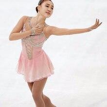 Индивидуальное изготовление платье для катания на коньках яркое