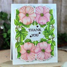 Eastshape Flower Metal Cutting Dies Stencil Elmers  Stitch Scrapbooking Template for Painting Craft Easter