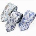 Korean Fashion Designer Bow Ties Skullcandy Design Skull Pattern Men Skinny Narrow Slim Tie Neckties For Men Party Novelty Groom