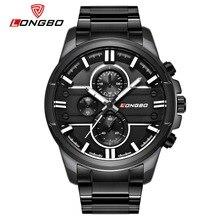 LONGBO 2018 Men Watch Stainless Steel Band Sports Quartz Wristwatches Dial Clock Dynamic Fashion Watches Men Relogio Masculino цена