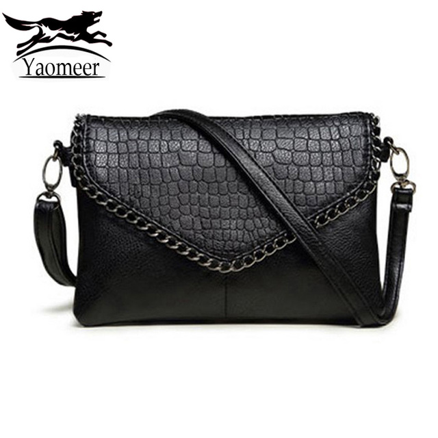 aa19372f23331 Famous Brand Small Black Shoulder Crossbody Bags Female Leather Messenger  Bag For Women Designer Handbags Clutches Purse Bolsas