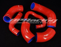 Silicone Intercooler Hose / Pipe For Mitsubishi EVO 7 8 9 CT9A Red