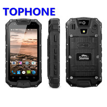 Snopow M5P IP68 Waterproof 4G LTE android 5.1 Smartphone Walkie Talkie RAM 2GB ROM 16GB NFC OTG 13.0MP 4.5″ 4700mAh mobile Phone