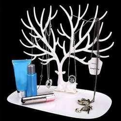 Jwelry Организатор цепочки и ожерелья серьги олень выставочная стойка держатель Показать стойки дисплей цепочки и ожерелья Организатор