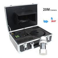 Free Shipping EYOYO 7 Monitor 20M Waterproof 360 Degree Rotate Fishing Fish Finder Camera Led Light