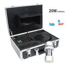 Free shipping! EYOYO 7″ Monitor 20M Waterproof 360 degree Rotate Fishing Fish Finder Camera Led Light