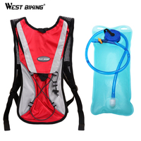 2L TPU Bicycle Cycling Climbing Camping Hiking Outdoor Sports Mouth Water Bladder Pack Backpack Bag Hydration