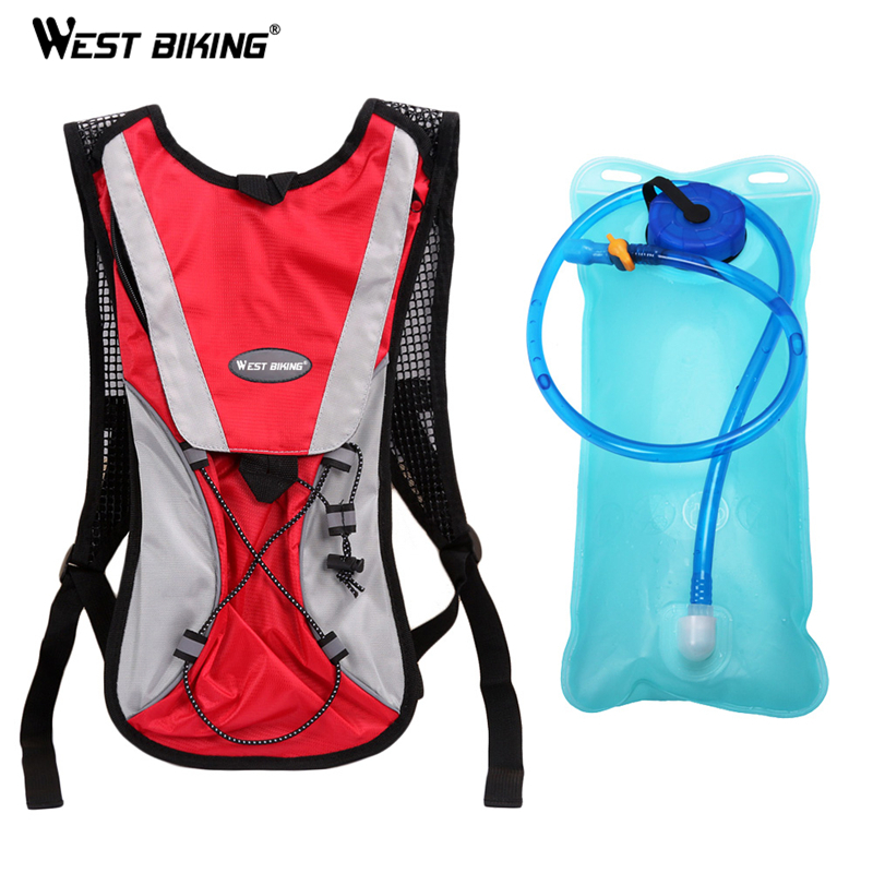 WEST BKING 2L TPU Bicycle Cycling Climbing Camping Hiking Outdoor Sports Mouth Water Bladder Pack Backpack Bag Hydration все цены