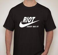 Gewoon Doen Strijd Win Oorlog Rage Aanval Vernietigen Small-2XL Beschikbaar 100% Katoen Mannen Vrouwen T-Shirt Tees Game Shirt