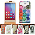 Oukitel K6000 Pro Case Cover, UP and Down Design Colored Painting PU Leather Phone Case Cover FOR Oukitel K6000 Pro