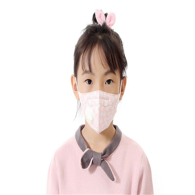 Bekleidung Zubehör Masken 10 Stücke Kinder Atmen Ventil Einweg Schutz Atmungs Maske Schmetterling Druck Anti Pm2.5 Anti-dunst Nicht-woven Masken Farben Sind AuffäLlig