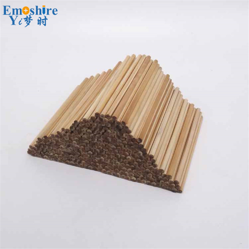 100 Pcs/ Lots Wood Pencil Stationery Wholesale Wooden Pencil Log Pencil Environmentally Friendly Hexagon Custom Logo Q020