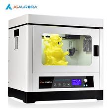 JGAurora А-8 3 D Принтер Металлический Каркас Макс 350*250*300 мм Стекло Горячей Кровать Prusa i4 Micromake Wanhao Dupicator i3 Тип