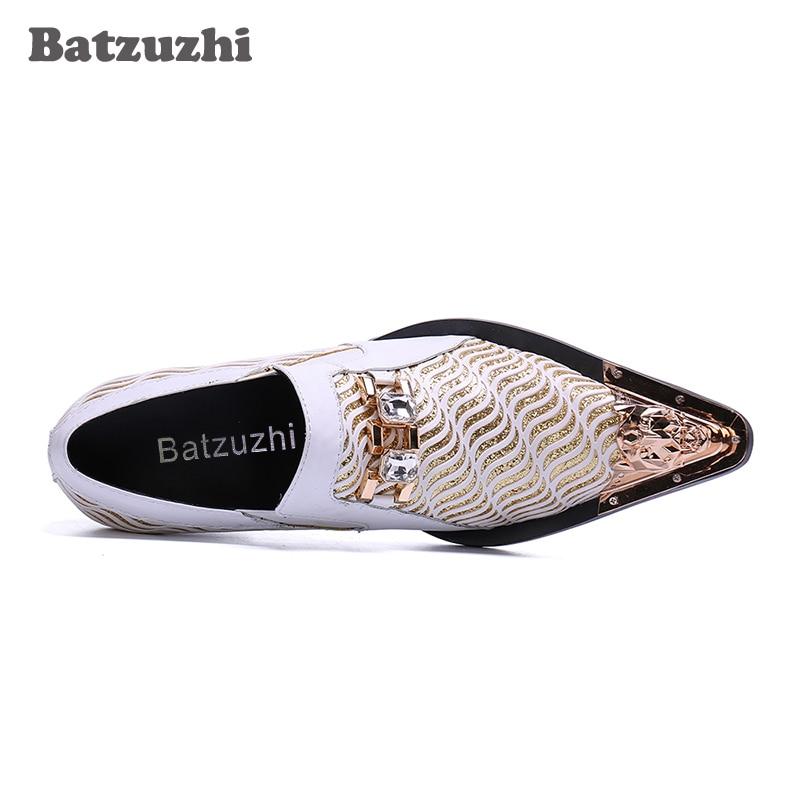 f47c40abf Wedding Genuína Bicudos Se Sapatos amp; 5 6 Zapatos De Homens Formais  Saltos Centímetros Vestem Batzuzhi ...