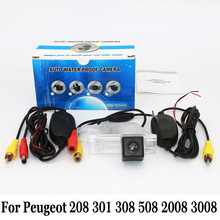 Беспроводной Автомобильная Камера Заднего вида Для Peugeot 208 301 308 508 2008 3008 2012 ~ Настоящее/HD CCD Парковка Автореверса Камеры/NTSC