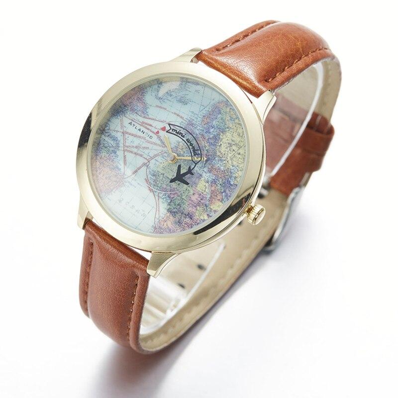 27dfe7d3461 Miss Keke Argila 3d Bonito Mini relógio mapa Do Mundo Relógio Das Mulheres  Relógios Relógio de Quartzo Das Senhoras relógios de Pulso das crianças dos  ...