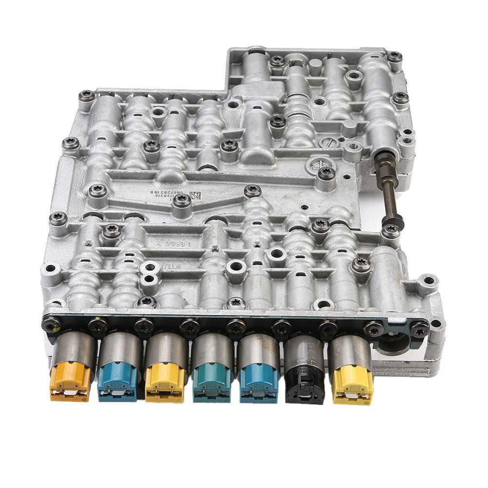 7pcs Shift Control Solenoid Valves Engine Shift Control Solenoid Kit 1068298044 for 6HP19 ZF6HP26 ZF6HP Gearbox Gearbox Solenoid Valve