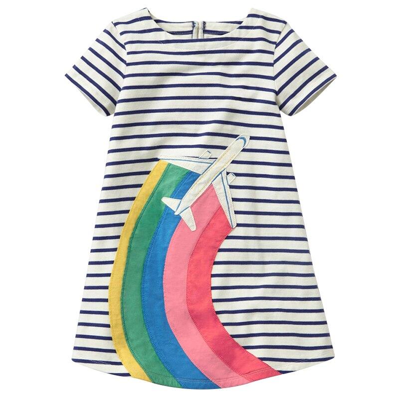 Bärenführer Mädchen Kleid 2018 Marke Prinzessin Kleid Kinder Kleidung Europäischen und Amerikanischen Design Mädchen Kleidung Für 2-6Y Party Kleider