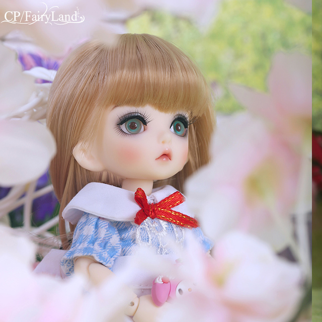 Free Shipping Pukifee Luna BJD Doll 1/8 Tiny Cute Ball Jointed Doll Resin Fairies Best Birthday Gift Toy For Girl Fairyland  2