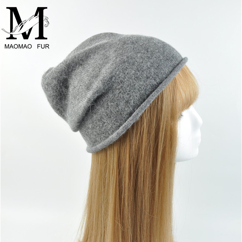Spring And Autumn Knitting Hat For Women New Arrival Popular Ladies Beanie Cap High Quality Fashionable Wool Knitted Hats
