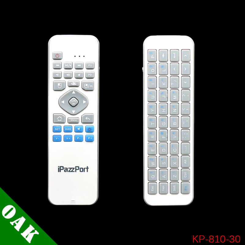 Original iPazzPort KP-810-30 2.4G Wireless Mini Keyboard + Air Mouse for PC/Laptop/Android TV Box/Smart TV High Quality