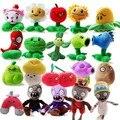 20 pçs/set jogos PVZ plantas vs Zombies brinquedos de pelúcia moda brinquedos de pelúcia boneca para crianças presentes brinquedo