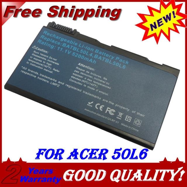 аккумулятор для acer 3690 5102 5610 5515 5680 BATBL50L4 BATBL50L6 5010 5200 5510 5510Z 5680 5630 5650