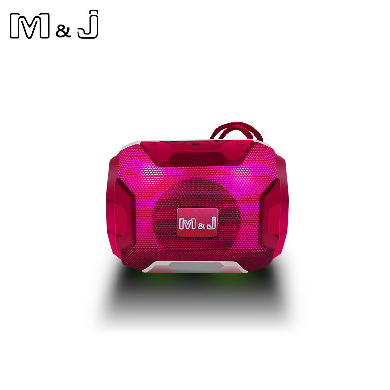 M&J Mini Wireless Bluetooth Speaker With LED TF Support USB Sub Woofer And Mp3 Stereo Audio Music Player 11