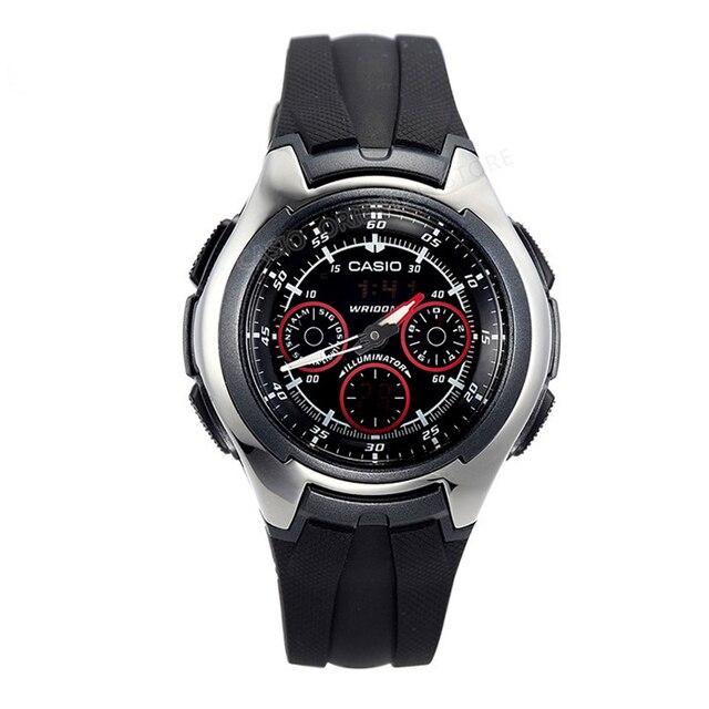 61f21df14b0 Casio Watch Wrist Watch Famous Brand Wristwatch Male Clock 2017 popular  Handsome Quartz Watch Relogio Masculino AQ-163W-1B1