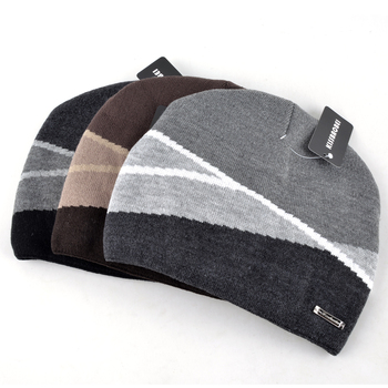 3b57082ef13 2018 Winter Men  39 s Skullies Gorro Brand Beanie Plus Velvet Hip ...