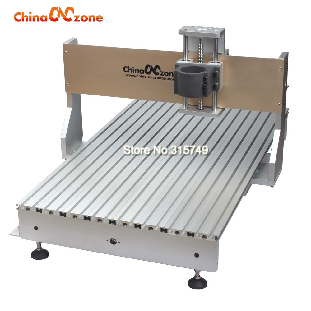 Tax free to RU CNC 6090 Router Milling Machine Frame DIY CNC Suitable For CNC Router 6090 2.2KW Spindle fixture 80mm