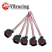 VR-5 шт./компл. инжектор динамика EV6 косичка клип разъем инжектора топлива Разъемы для многих автомобилей EV6 заглушка инжектора FIC13