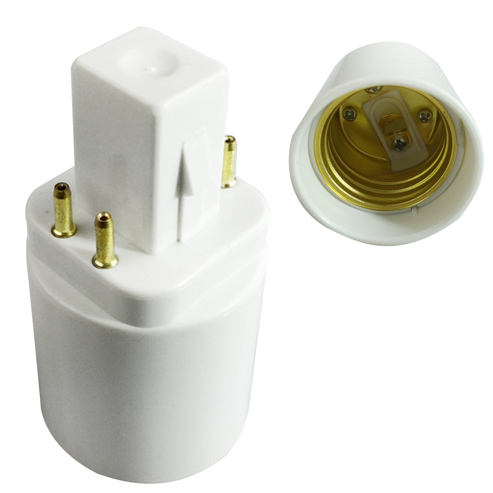 Careful G24q To E26/e27 Practical Travel Accessories Professional Portable Lamp Holder 4 Pin Converter For Bulb Socket Adapter Home Plug Do You Want To Buy Some Chinese Native Produce? Lighting Accessories Lights & Lighting