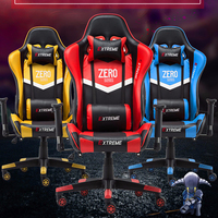Fashion Armchair Playing Chair WCG Chair Computer Gaming Athletics Chair Office Lift Swivel Lying Chair