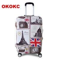 OKOKC башня путешествия чемодан защитный чехол для багажника чехол применить к 19 ''-32'' чемодан Крышка толстые совершенно эластичный