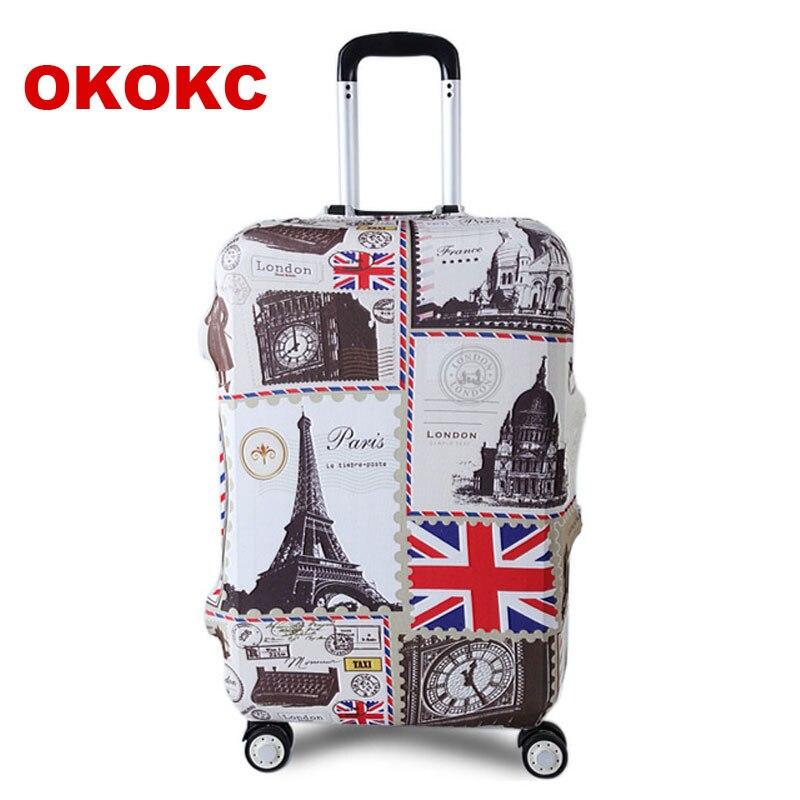 OKOKC Turm Reise Gepäck Koffer Schutzhülle für Stamm Fall gelten für 19 ''-32'' Koffer Abdeckung Dicken elastische Perfekt