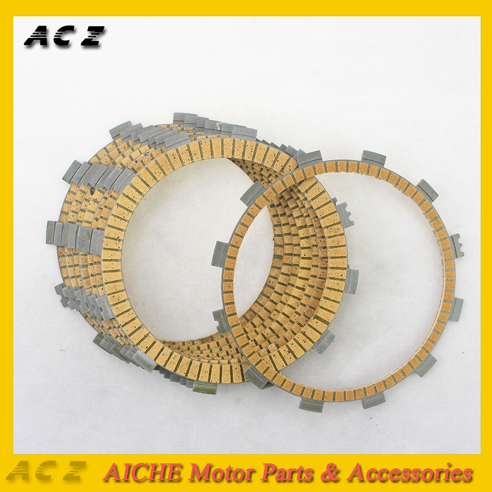 ACZ Motorcycle 8Pcs Engine Parts Clutch Friction Plates Paper-Based Clutch Frictions For YAMAHA VMAX1200 V-Max 1200 1988-2007