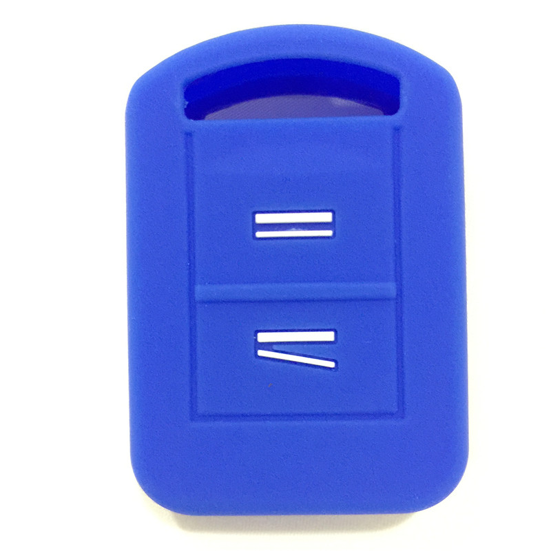 SILICONE CAR KEY COVER FIT FOR VAUXHALL OPEL CORSA COMBO MERIVA SILICONE KEY REMOTE HOLDER CASE COVER FOB 2Button