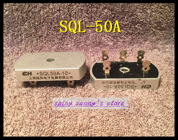 2Pcs/Lot <font><b>SQL50A</b></font> Bridge Rectifier 3 Phase Diode 50A Amp <font><b>1000V</b></font> Brand New image
