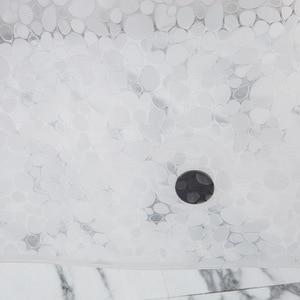 Image 4 - UFRIDAY cortina de ducha impermeable 3D, cortina de baño de plástico PEVA, cortinas transparentes de ducha, cortina de baño gruesa con imanes