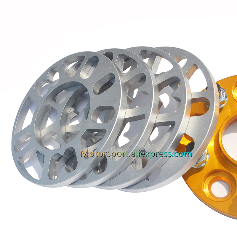 2 X 10mm SHIMS SPACER UNIVERSAL ALLOY WHEELS SPACERS FOR HONDA CR-Z