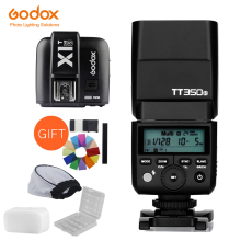 Godox Mini Speedlite TT350S Camera Flash TTL HSS GN36 +X1T S Transmitter for Sony Mirrorless DSLR Camera A7 A6000 A6500