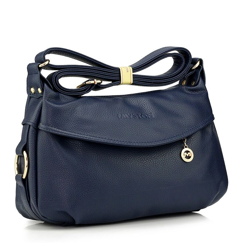 Women Messenger Bags Casual Shoulder Bag Classic PU Leather Handbags For Women High Capacity Womens Tote Crossbody Bag in Shoulder Bags from Luggage Bags
