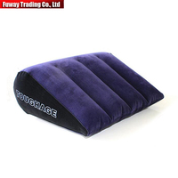 Free Shipping Car Inflatable Sex Pillow Adult Sex Sofa Bed Cushion Triangle Wedge Pad Sofa Toys